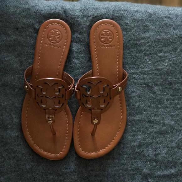 eed0de018c3 Tory Burch Miller Sandals (size 6)